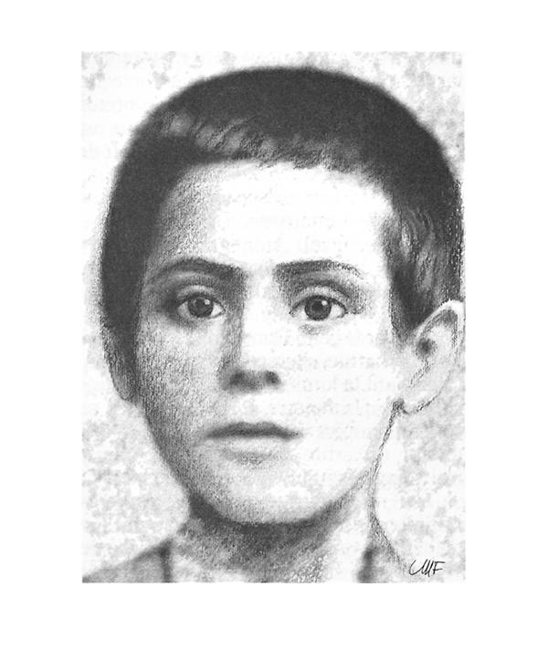 Kurzbiografie - Bild vom jungen Mikhael