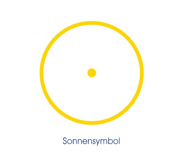 Bruderschaft - Bild vom Sonnensymblo