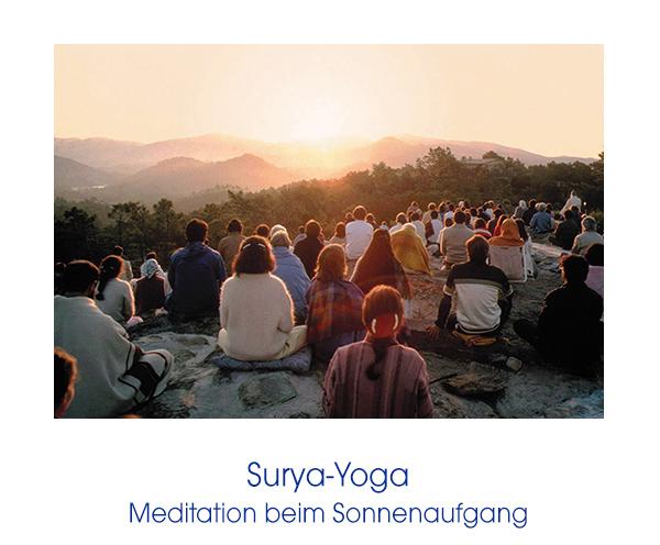 Bruderschaft - Meditation beim Sonnenaufgang